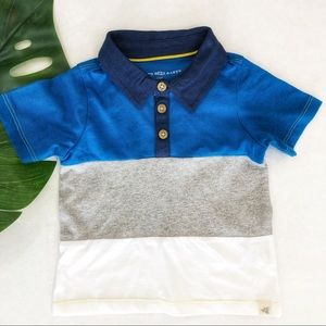 Burt's Bees Organic Cotton Polo Size 12M NWOT